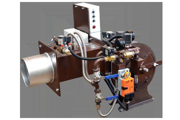 Промышленная газо-мазутная горелка МДГМГ